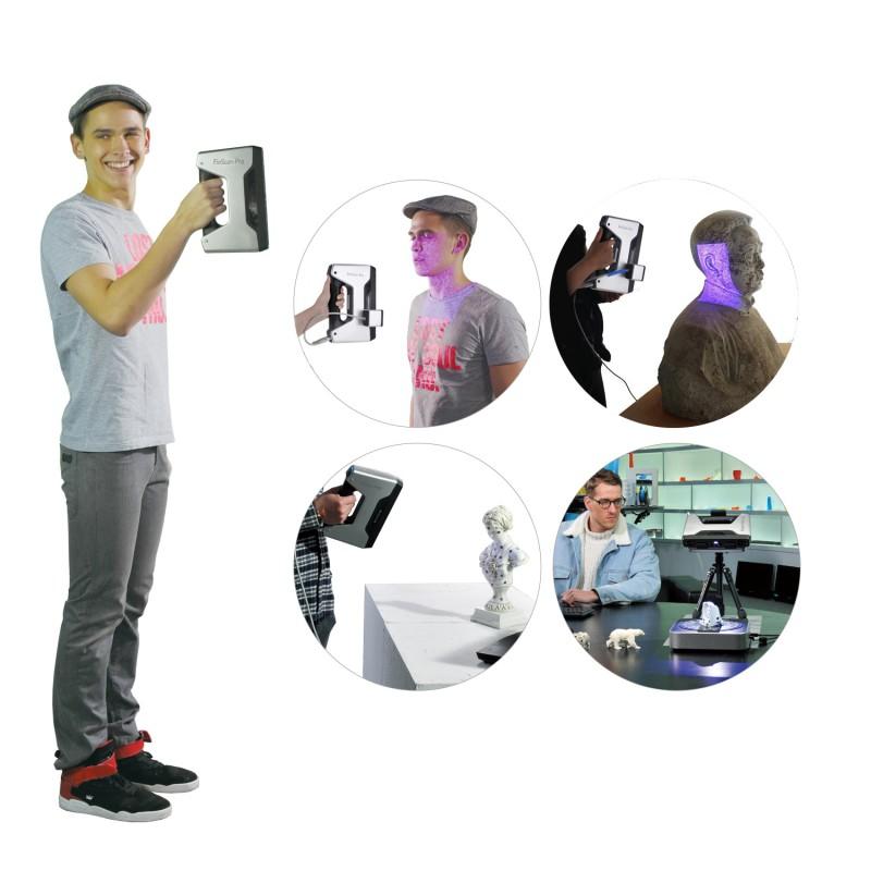 Ręczny skaner 3D EinScan-Pro