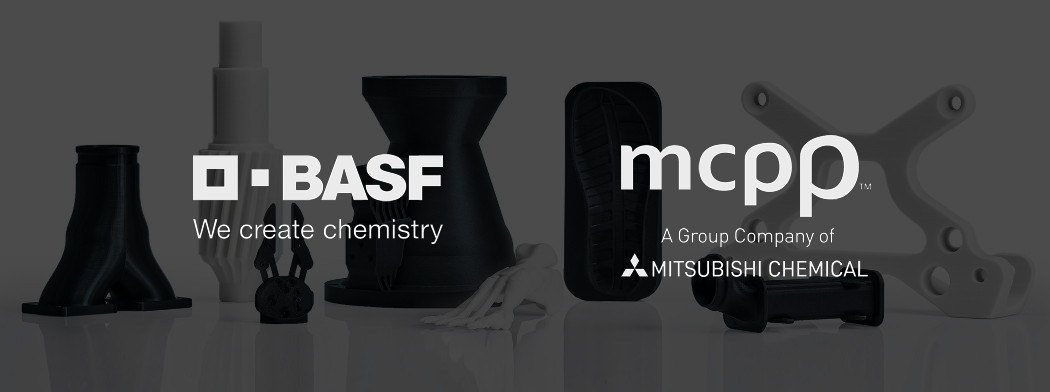 BCN3D filaments produced by BASF and Mitsubishi Chemical