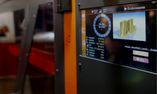 ATMAT Galaxy 3D printer wireless communication