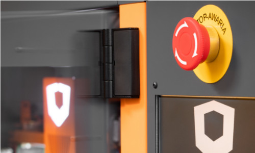 Drukarka 3D ATMAT Galaxy ochrona użytkowników i środowiska