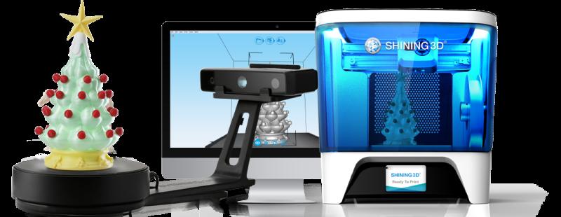 Skaner 3D Einscan SE - druk 3D