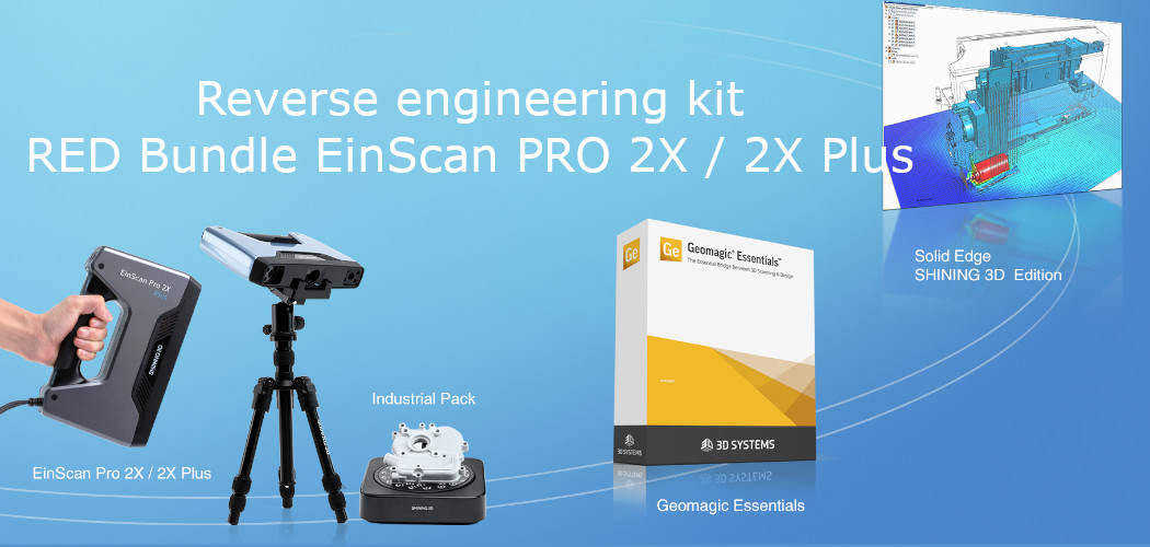 RED Bundle EinScan PRO 2X