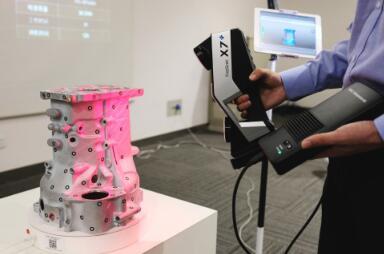 Skaner 3D SHINING3D FreeScan X7 skanowanie