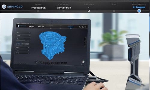 3D scanner SHINING 3D FreeScan UE11