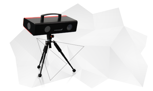 3D scanner SMARTTECH3D UNIVERSE LITE zawartość zestawu