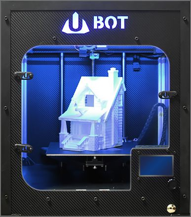 UBOT 3D TOWER S+ - Impressive speed