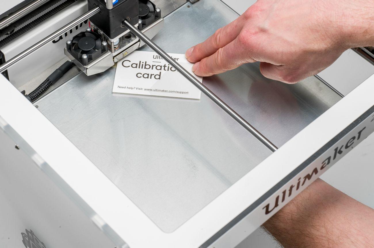 Ultimaker 2+ Kalibracja za pomocą karty kalibracyjnej