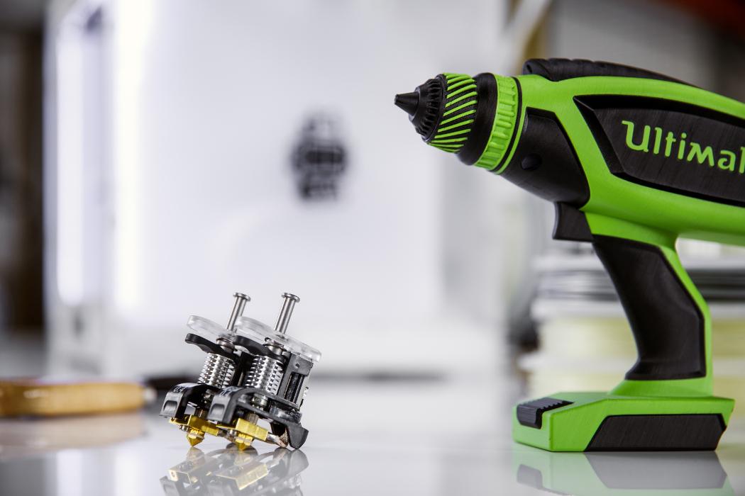 Wiertarka stworzona w drukarce 3D