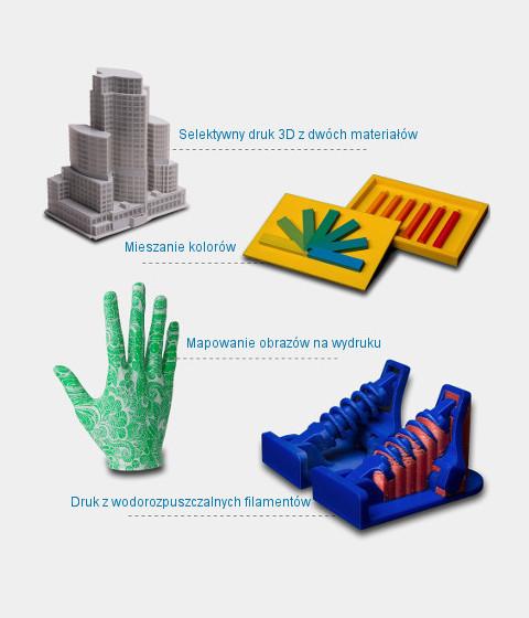 Wielofunkcyjna drukarka 3D ZMORPH VX