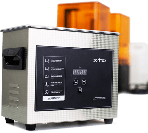 Zortrax Inkspire - Ultrasonic Cleaner