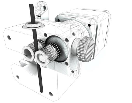 BCN3D Ekstruder Bondtech
