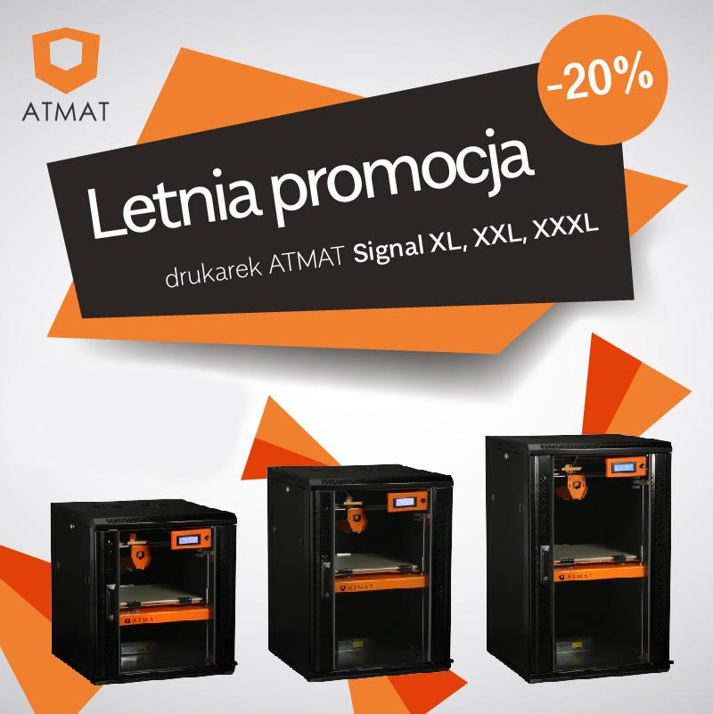 Atmat Signal - drukarki 3D Promocja -20%