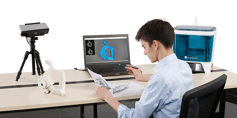 3D scanner EinScan SE - features