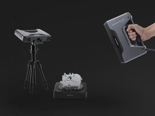 Tripod and rotary table for 3d scanner EinScan Pro 2X Plus