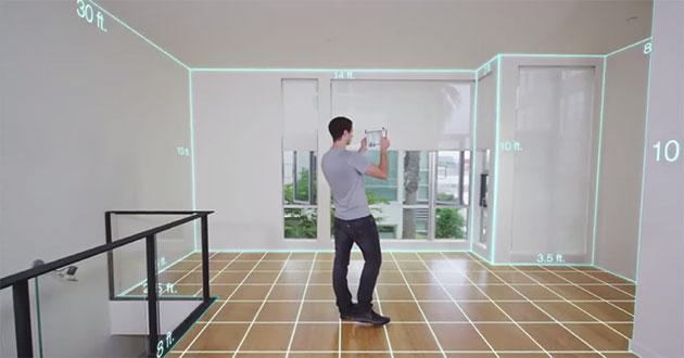 Mobilny skaner 3D iSense dla iPad - skanowanie pomieszczeń