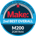Zortrax M200 awards banner