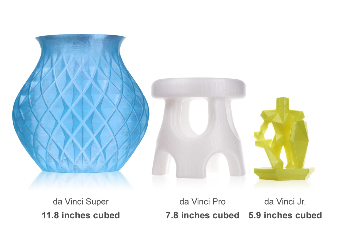 3D printer da Vinci Super - features