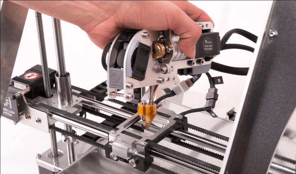ZMorph VX - podwójny ekstruder do druku 3D