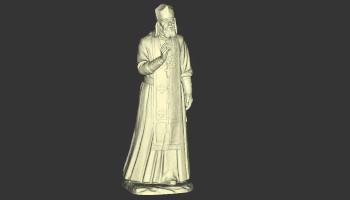 Digitalizacja posągu skanerem Calibry 3D