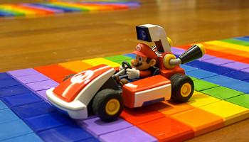 Rainbow Road 3D dla nowego Mario Kart Live