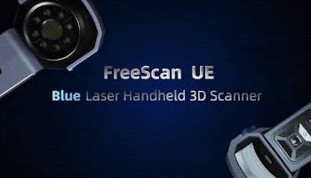 Shining 3D FreeScan UE - new metrological quality of 3D laser scan