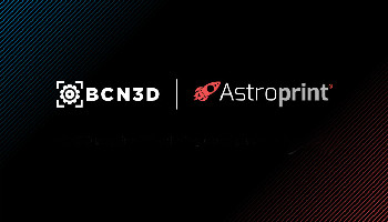 BCN3D takes over the AstroPrint 3D printing platform working in the cloud.